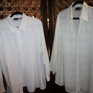 TWO Maggie Barnes Blouses Size 20W